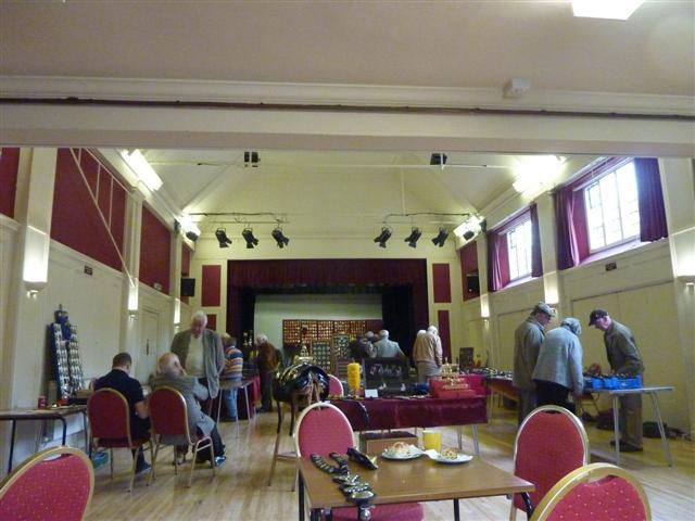 the main hall at Church Stretton.